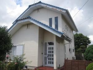 水戸市H様邸外壁塗装前