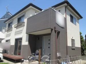 水戸市O様邸 外壁塗装前