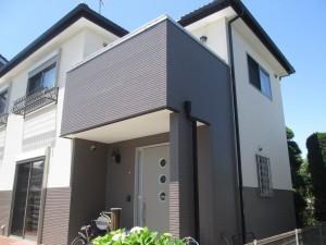 水戸市O様邸 外壁塗装完成