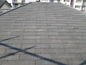 水戸市屋根塗装前