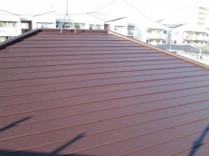 水戸市屋根塗装完成