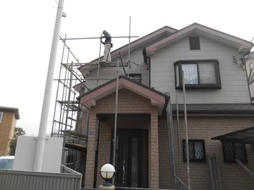 外壁塗装前 吹田市千里丘Y様邸