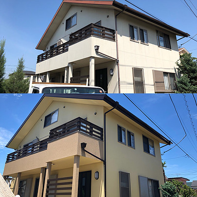 平塚市A様外壁塗装