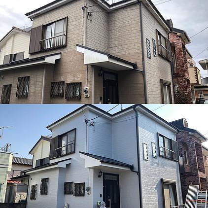 平塚市K様外壁塗装