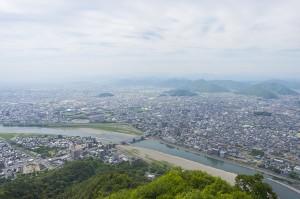 岐阜市の風景
