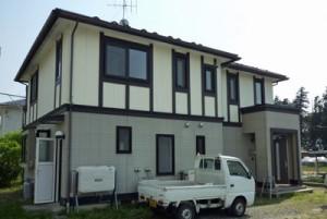 松川町 家の塗装・外壁と屋根塗装