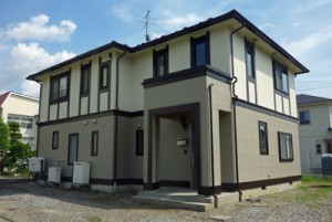松川町 家の塗装・外壁と屋根 完成