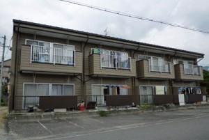 高森町アパート 外壁塗装・屋根塗装完成