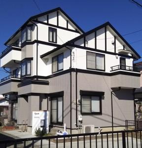 土浦市生田町 H様邸 外壁屋根塗装完成