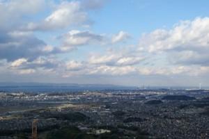大分市の風景