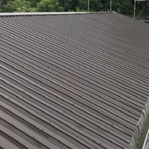 秩父郡長瀞町での工場の屋根塗装 塗装完成