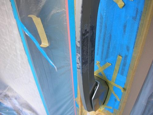 ドアノブの塗装前写真