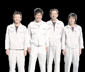 岐阜県 大橋美装塗装スタッフ