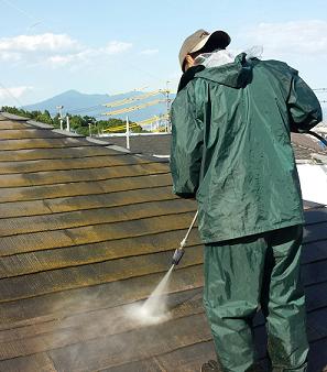 外壁と屋根の塗装下地