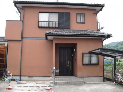静岡での外壁塗装before