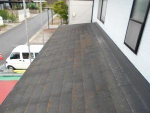 屋根塗装前・多治見市