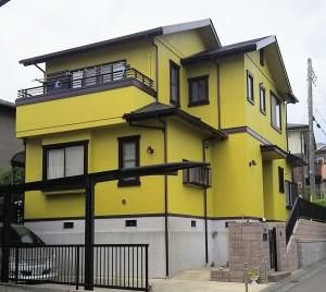 土浦市高津新町 M様邸外壁屋根塗装