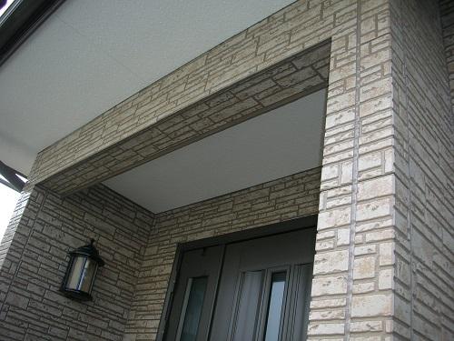 外壁サイディング塗装完成